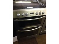 60CM BELLING DOUBLE OVEN FAN ASSISTED ELECTRIC COOKER0272