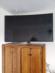 samsung tv smart 55 Curved selling parts It works fine but the s