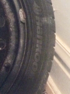 Tires and rims. Winter. 225/50/R17