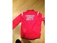Football players girls