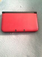 3DS XL, with box, and 3 games