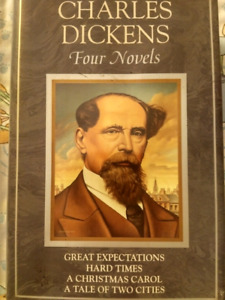 Four novels by Charles Dickens -- all in one book