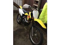 Suzuki Drz 125 4 stroke