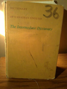 Vintage Gage Canadian English Dictionary Hardcover London Ontario image 4