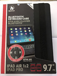 BLUETOOTH KEYBOARD CASE for iPad Pro, Air 1 & 2.