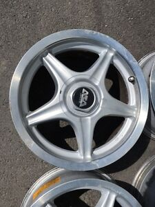 4 mags ASA licenced by BBS 16 pouce 5x100                       Code M62