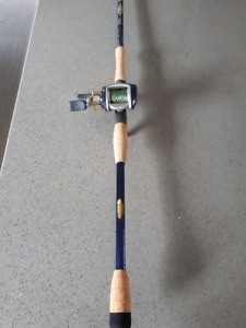 St Croix Legend Tournament Big Dawg muskie rod & reel