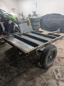 Utility trailer for camping or off-road hauler