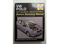 Haynes Manual VW Polo 9n 2001 2002 2003 2004 2005