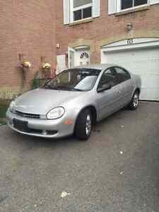 2001 Chrysler Neon 67500KM ONE OWNER *PERFECT WINTER BEATER