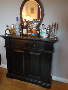 Bar Cabinet / Hutch with Storage - Delivery Available