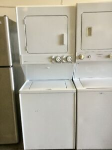 Maytag White Washer and Dryer Stacker Stacked Set