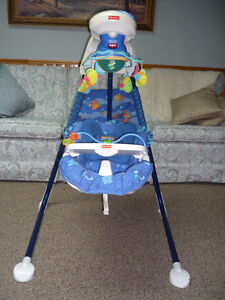 Cradle Swing (Aquarium )   (2 Way Swing)