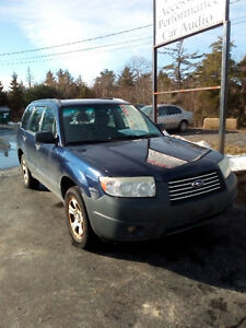2006 SUBARU FORESTER  AWD AUTO ONLY $2921FABULOUS DEAL