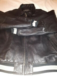 Rare Mens Leather Bomber