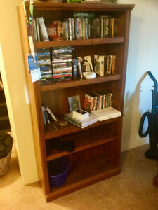Large, wooden bookcase FS ($85)