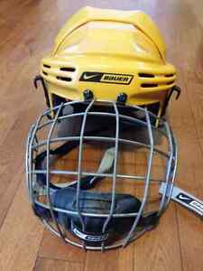 Hockey Helmet 5500 XS Bauer with cage