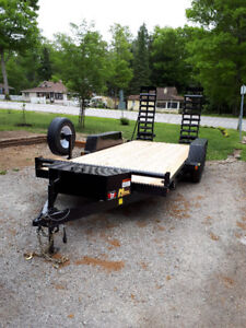 5 TON LOW BED TRAILER