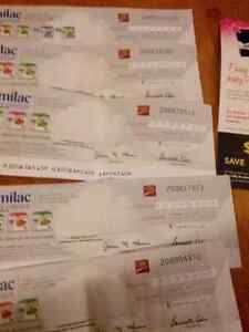 SIMILAC CHEQUES