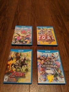 Selling Nintendo Wii U games