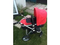 Travel system. Pram/pushchair/car seat
