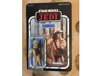 Carded Star Wars vintage ewok