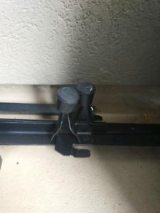 Metal frame for bed-adjustable