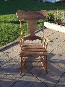 Antique pine rocking chair Kingston Kingston Area image 1