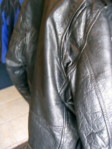 Large mens biker jacket   recycledgear.ca Kawartha Lakes Peterborough Area image 7