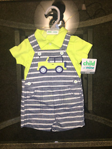Brand new baby boy clothes 3-6 months