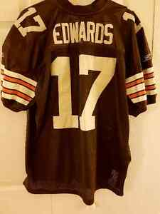 Reebok Braylon Edwards #17 Cleveland Browns Home jersey