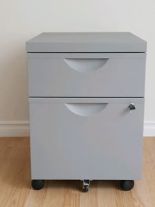 Lockable filing cabinet for sale $50