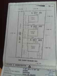 Terrain à vendre - 641 rue St-Charles sud Granby