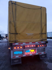 48' Flatbed Trailer with slide axle 2006 Reitnouer all aluminum