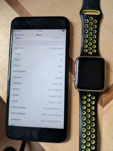 Iphone 7 plus and gen 2 42mm iWatch