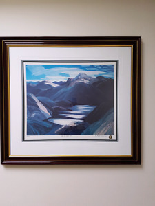 "Limited Edition Framed ""Light and Shadow"" Franklin Carmichael"