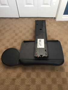 Commercial Grade Keyboard Tray and Mouse Holder