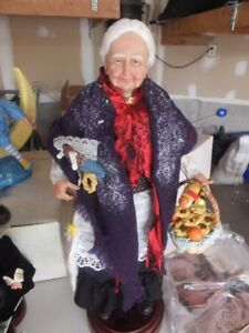 "A VERY SPECIAL DOLL CALLED :"" LA BEFANA"""