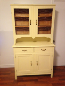 Farm Style Hutch and Display 4 Sale