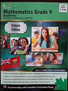Principles Of Mathematics Grade 9 | Kijiji in Ontario  - Buy, Sell