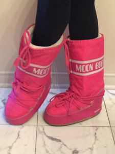 Moon boots ROSE