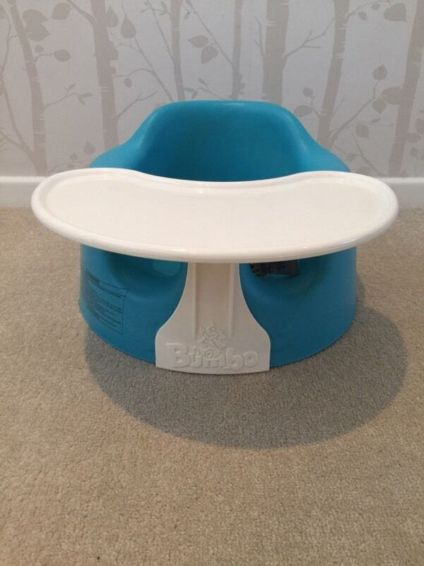 Bumbo Floor Seat In Blue With Tray In Swanley Kent