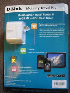 D-Link DIR-505 SharePort Mobile Companion Kit + 16GB USB Stick