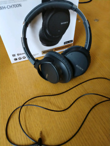 Sony Wireless Noise Cancelling Over Ear Headphones!