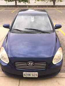 Nice and clean 4 dr Hyundai Accent with low kms
