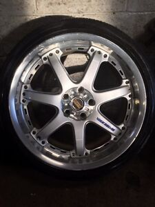 VOLK RACING 2pc wheels 19 Inch