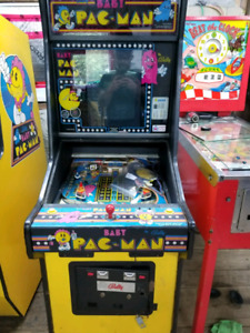 Baby pacman pinball arcade projects