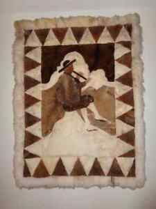 Real lama rug / Vrai tapis de chameau Gatineau Ottawa / Gatineau Area image 1