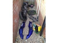 Honda nsr 125 massive job lot bundle or breaking parts jc22 foxeye 1993 2003