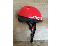 Child's red cycle helmet suit age 5-8yrs